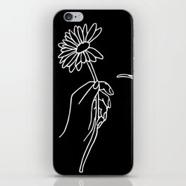 He Loves Me Not iPhone Skin