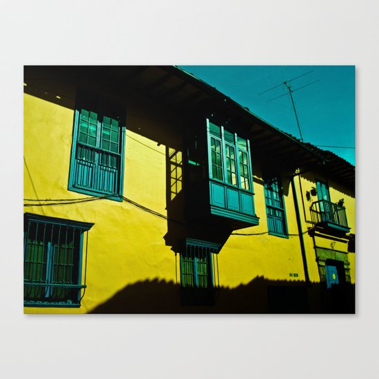 THE BALCONY IN CANDELARIA Canvas Print