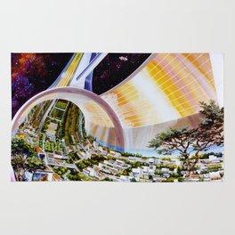 Cutaway View, Stanford Torus Rug