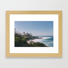 La Jolla  Framed Art Print