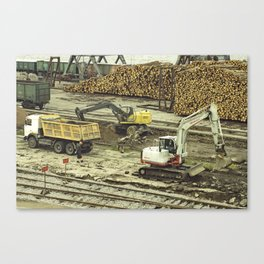 Dock Landscape II Canvas Print