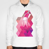 popsicle Hoodies featuring Raspberry Popsicle by Spires