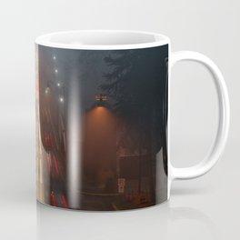 Lions Gate in the Fog Coffee Mug