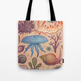 Aequoreus vita II / Marine life II Tote Bag