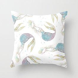mermie no. 1 Throw Pillow