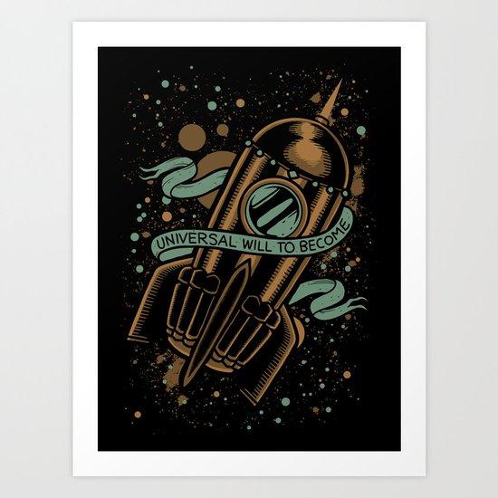 sirens of titan - vonnegut Art Print