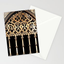 Gothic Arch Stationery Cards