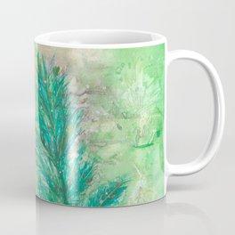 Gold Star on Fir Branch Coffee Mug