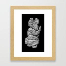 Extraterrestrial Homo Cetus, No.2 Framed Art Print