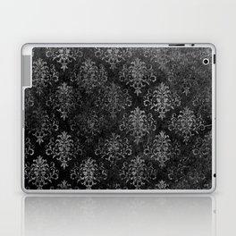 Elegant Grunge Black Damask Laptop & iPad Skin