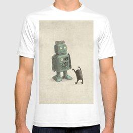 Robot Vs Alien T-shirt