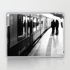 S-Bahn Berlin black and white photo Laptop & iPad Skin