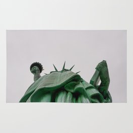 New York City: Statue of Liberty (Color) Rug
