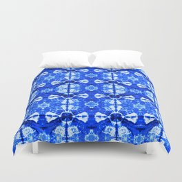 It's Bloomin' Blue Duvet Cover