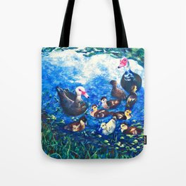 MUSCOVY FAMILY Tote Bag