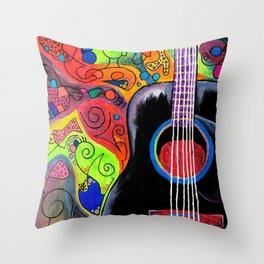 """Electrical Chord"" Throw Pillow"