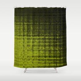 Black olive mosaic Shower Curtain
