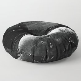 Oil Slick Floor Pillow