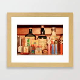 The Way Things Were Framed Art Print