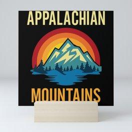 Appalachian Mountains Sunset Mini Art Print