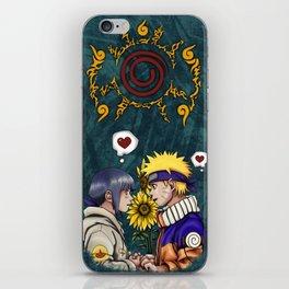 Naruto and Hinata iPhone Skin