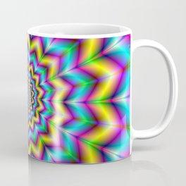 Yellow Blue and Violet Star Coffee Mug