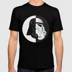 STAR WARS MEDIUM Mens Fitted Tee Black