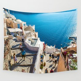 Oia,Santorini Wall Tapestry