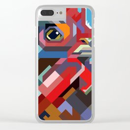 wpap o rooster Clear iPhone Case