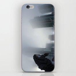 Digital Orca Amidst The Fog iPhone Skin
