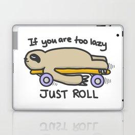 Sloth Skateboarding Laptop & iPad Skin