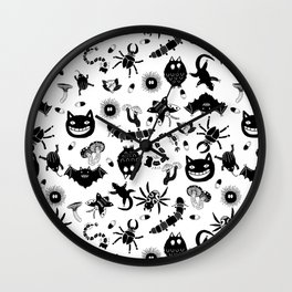 Ghibli creatures Wall Clock