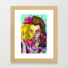 Oktapodi Framed Art Print
