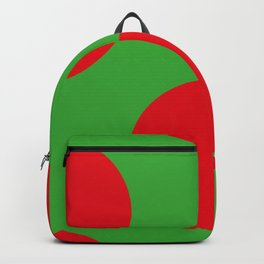 This is the back of a Ladybird. In different colors by the way. Backpack