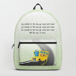 Wheels on the Bus Backpack