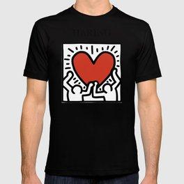 Haring - Heart T-shirt
