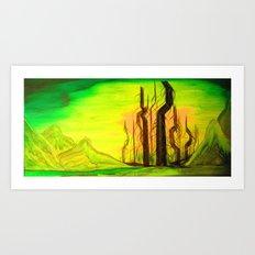 Apocalypse Vale Art Print