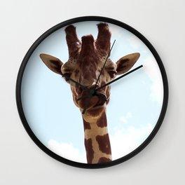Silly Giraffe Wall Clock