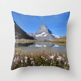 Matterhorn Throw Pillow