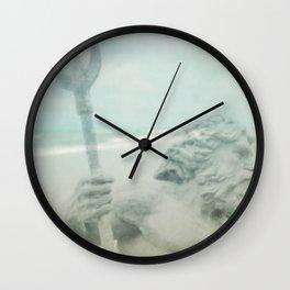 Neptune's Myth Wall Clock