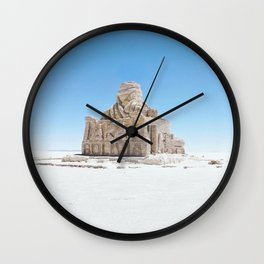 Dakar Rally Bolivia monument Wall Clock