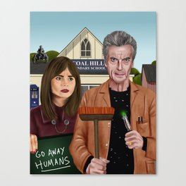 Twelfth & Clara Canvas Print