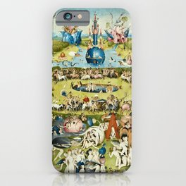 Heironymus Bosch - The Garden Of Earthly Delights iPhone Case