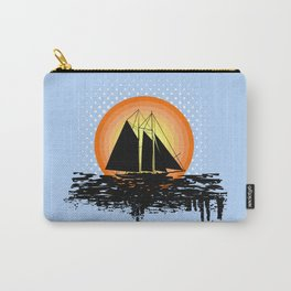 Grunge sailing Carry-All Pouch