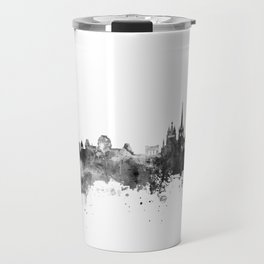 Lausanne Switzerland Skyline Travel Mug