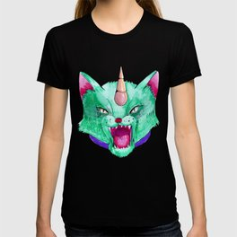 the cat unicorn T-shirt