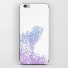 Line Bear iPhone & iPod Skin