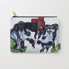 Mistletoe Ponies Carry-All Pouch