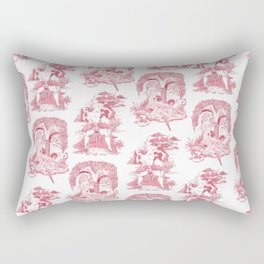 Bawdy Toile Rectangular Pillow