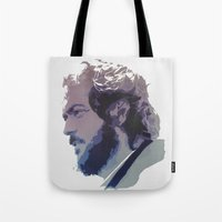 kubrick Tote Bags featuring Kubrick by Davidjonesart